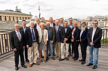 Photo from the Steering committee and founding members of the DAM foundation